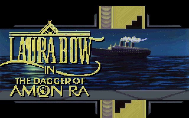 Laura Bow 2 - The Dagger of Amon Ra