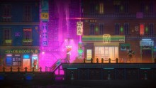 Neon Farben in Tales of the Neon Sea